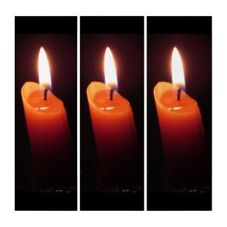 The Three Orange Candles Triptych