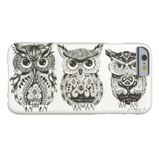 The Three Owls Barely There iPhone 6 Case