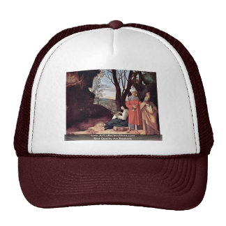 The Three Philosophers By Giorgione Trucker Hat