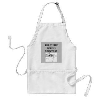 the three pound universe adult apron