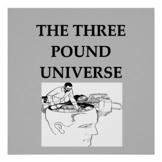 the three pound universe poster