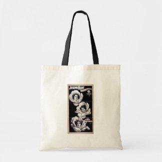 The Three Rosebuds, 'Joseph Hart Vaudeville' Canvas Bags