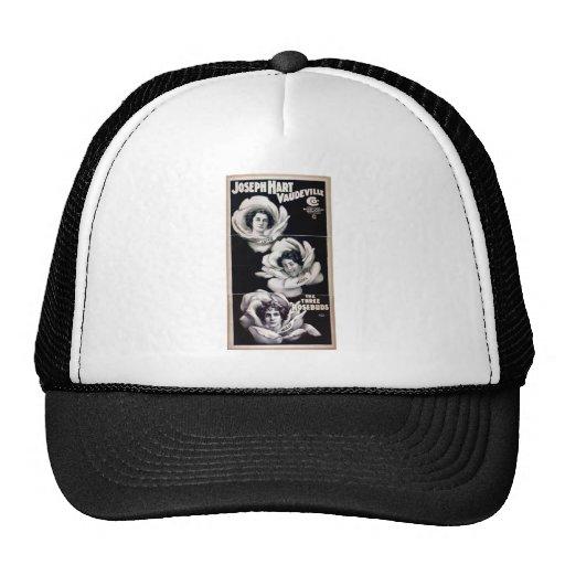 The Three Rosebuds, 'Joseph Hart Vaudeville' Trucker Hat