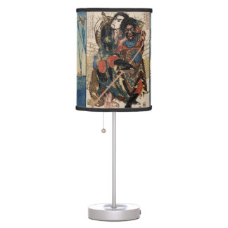 The Three Samurai - Table Lamp Shade