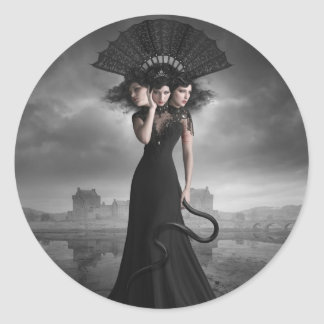 The Three Sisters Classic Round Sticker