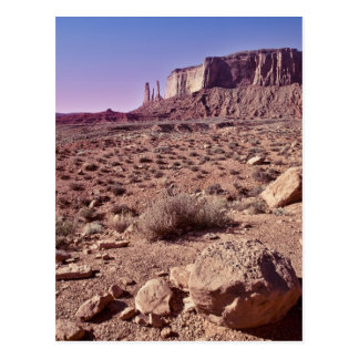 The Three Sisters Monument Valley Postcard