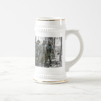 The Three Soldiers Beer Stein