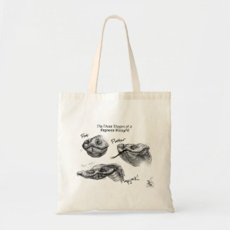 """The Three Stages of a Hognose Hissyfit"" Tote Bag"