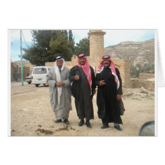 The Three Stooges - Bedouin Style Card