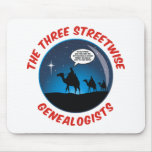 The Three Streetwise Genealogists Mousepads