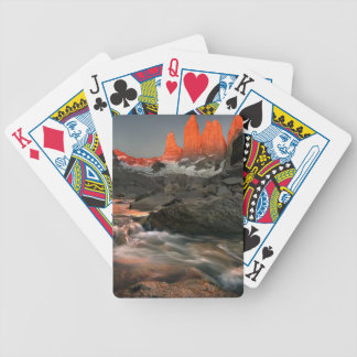 The Three Towers Bicycle Playing Cards