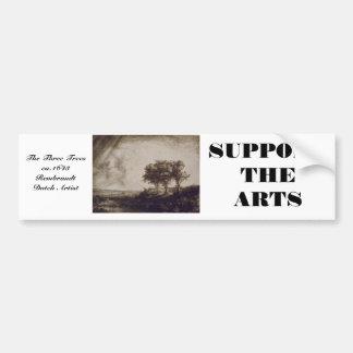 The Three Trees Bumper Sticker