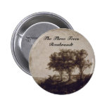 The Three Trees Pinback Buttons