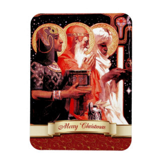 The Three Wise Men. Christmas Gift Magnet
