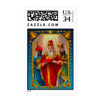 THe three wise men Postage Stamp