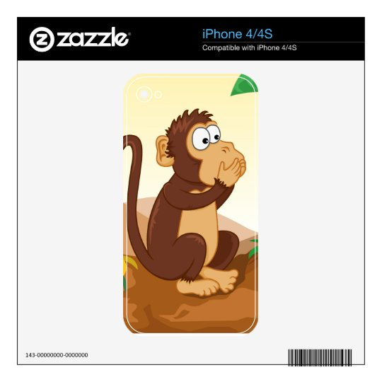 The three wise monkeys skins for iPhone 4