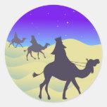 The Three Wisemen Classic Round Sticker