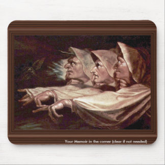 The Three Witches English - The Weird Sisters Or T Mousepad