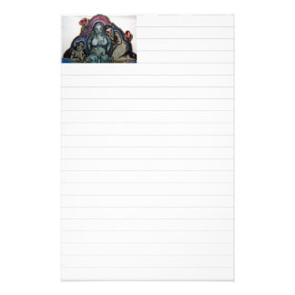 The Three Witches of Macbeth Stationery