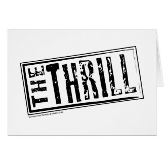 THE THRILL logo opt.1 Card