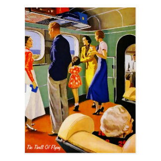 The Thrill Of Flying - Postcard