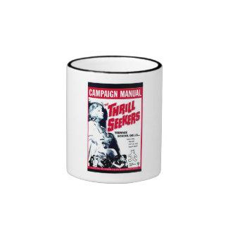 The Thrill Seekers Ringer Coffee Mug