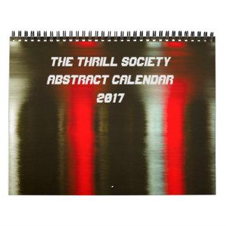 The Thrill Society 2017 Abstract Calendar