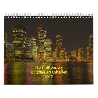 The Thrill Society 2017 Building Art Calendar