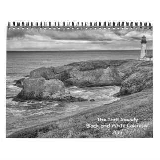 The Thrill Society Black and White Calendar 2017