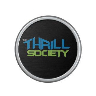 The Thrill Society.com logo design Bluetooth Speaker