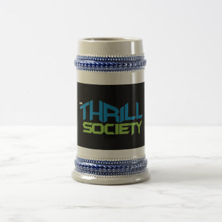 The Thrill Society Logo Beer Stein