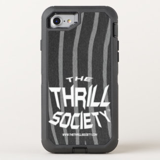 The Thrill Society Logo Squeezed Design OtterBox Defender iPhone 8/7 Case