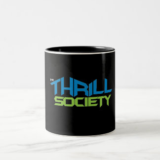 The Thrill Society Logo Two-Tone Coffee Mug
