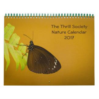The Thrill Society Nature Calendar 2017