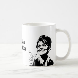 The Thrilla from Wasilla Coffee Mugs