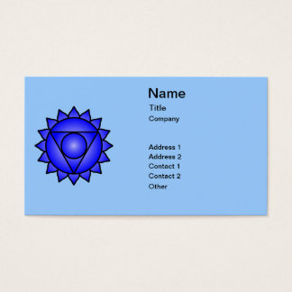 The Throat Chakra Business Card