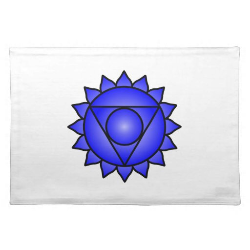 The Throat Chakra Placemat