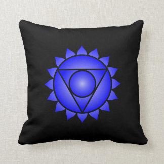 The Throat Chakra Throw Pillow