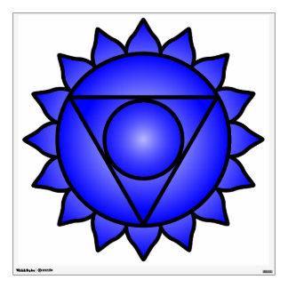 The Throat Chakra Wall Sticker