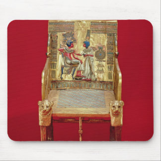 The throne, from the Tomb of Tutankhamun Mouse Pad