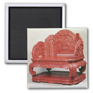 The throne of Emperor Ch'ien Lung (1736-95) Magnet