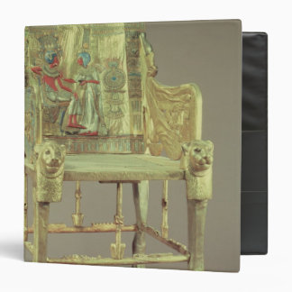 The throne of Tutankhamun  New Kingdom 3 Ring Binders