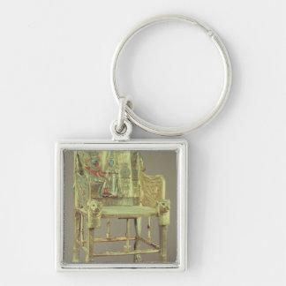 The throne of Tutankhamun  New Kingdom Keychain