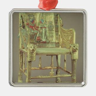 The throne of Tutankhamun  New Kingdom Metal Ornament