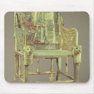 The throne of Tutankhamun  New Kingdom Mouse Pad