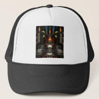 The Throne Room Fractal Art Trucker Hat