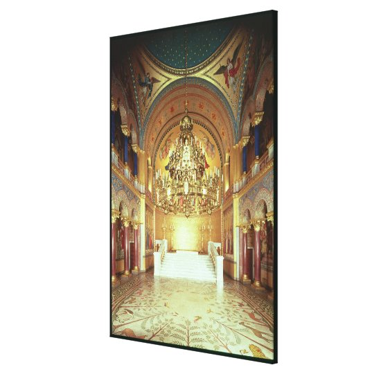 The Throne Room from the north Canvas Print