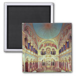 The Throne Room from the south Fridge Magnet