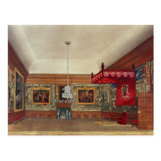 The Throne Room, Hampton Court Postcard