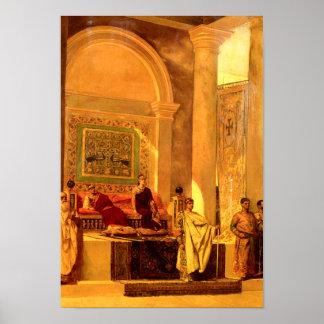 The Throne Room in Byzantium Print